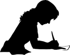 writing-silhouette-3